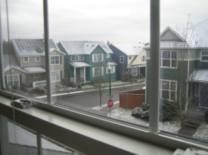 Portland Winter Sky